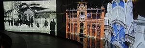 Laser projection 3LCD Sony helps renew the plant Modernista Gaudí Center in Reus