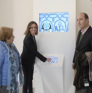 Totem digital en Cuarto Real Granada