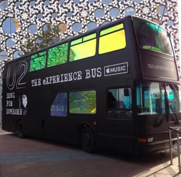 U2 The Experience Bus Apple