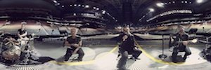 Virtual reality 360 ° wraps the latest video of the U2 rock band