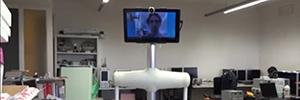 La Universidad de Lleida desarrolla un robot de telepresencia para personas con discapacidad