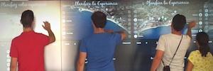 Virtualware transforma la oficina de turismo del Ayuntamiento de Calonge en un espacio interactivo