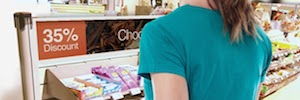 Wavetec Donatello line: signage digital to convert environments retail in spaces profitable