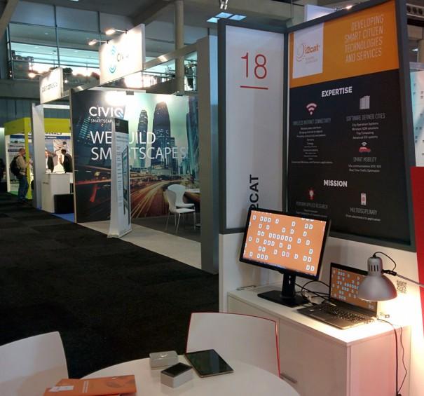 i2Cat en SmartCity 2015