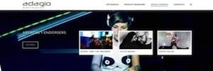 Adagio Distribución potencia su imagen y servicio con una nueva web y un concurso