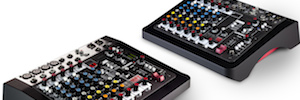 Allen & Heath: new mixers analog and ultra compact for their ZED series