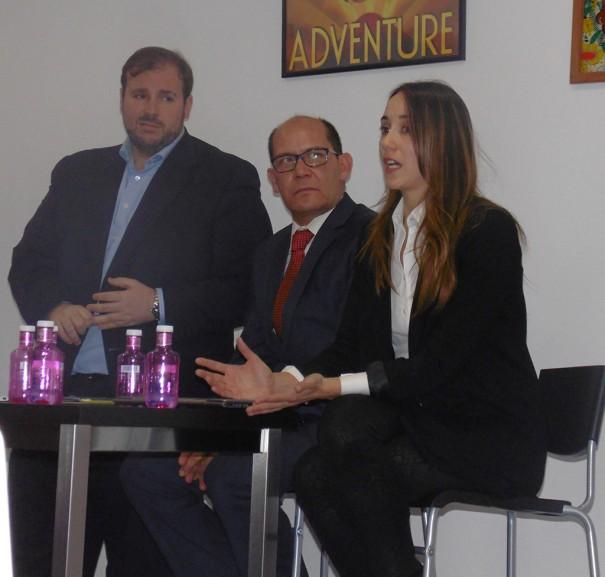 Dinamica DS Borja Janariz (LG), Carlos Rojo (NEC) y Berta Conde (Samsung)
