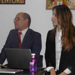 Dinamica DS: Carlos Rojo (NEC) y Berta Conde (Samsung)