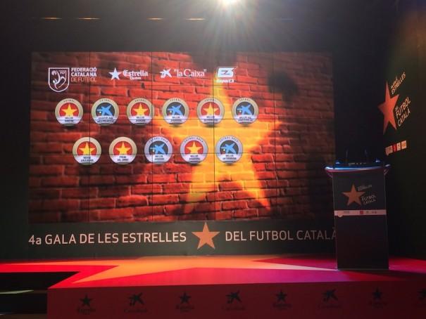 Eikonos Gala Estrellas Futbol Catalan