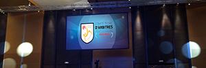 EI Comité Técnico de Árbitros de fútbol catalán celebra su centenario con Eikonos