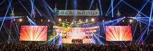 Beachbody utilizó la iluminación de Elation para su convención anual en Nashville