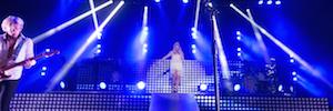 R5 Band ofrece espectaculares efectos visuales con Elation Cuepix Panel en sus conciertos