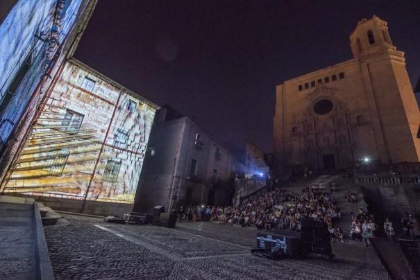 Epson Festival Mapping Girona2015