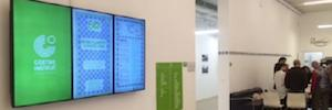 Goethe-Institut Barcelona bets for aracast Digital Signage to improve its communication
