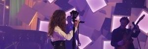Experiencia inmersiva e imágenes en 360º en el Especial Nochebuena de TVE con Malú