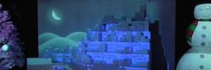 Videomapping y Belén en 3D, las apuestas tecnológicas de los centros comerciales en Navidad