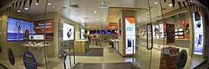Vodafone Hutchison Australia installed a network of digital signage to increase its market share