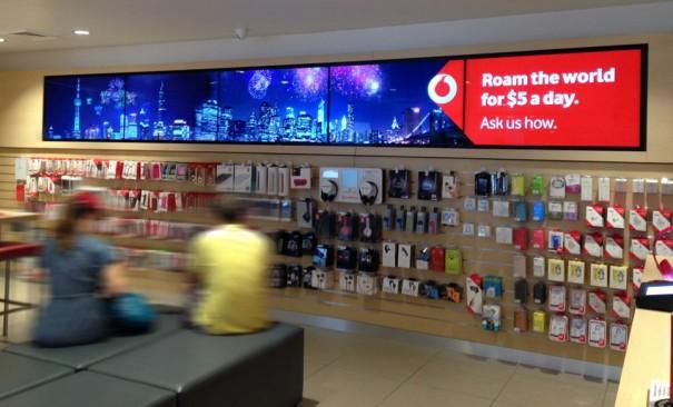 Signagelive Vodafone Australia
