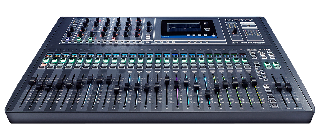 Soundcraft si impact consola digital con potente dsp para eventos soundcraft si impact consola digital con potente dsp para eventos en directo y estudio malvernweather Choice Image