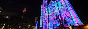 Sídney celebra la Navidad con espectaculares proyecciones de vídeo
