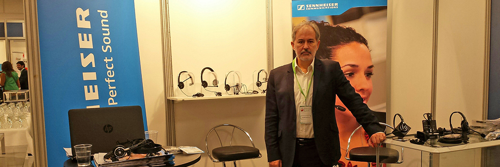 Lyreco sells the professional a headset from Sennheiser