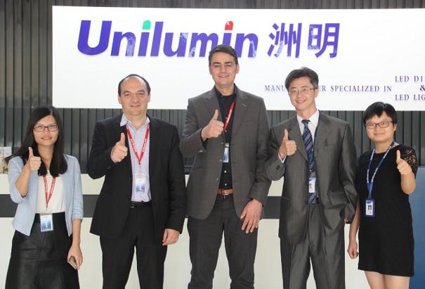 Asociacion eyevis Unilumin