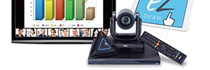 Aver EVC950: multipoint video conferencing for large rooms or auditoriums