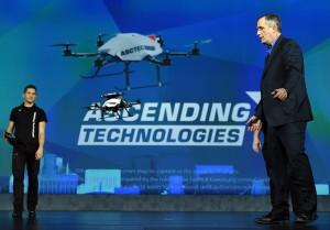 CES 2016 Intel dron