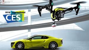 CES 2016 drones