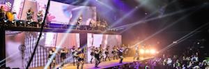 Elation Platinum BX crea espectaculares efectos de luz al ritmo de Banda La Trakalosa