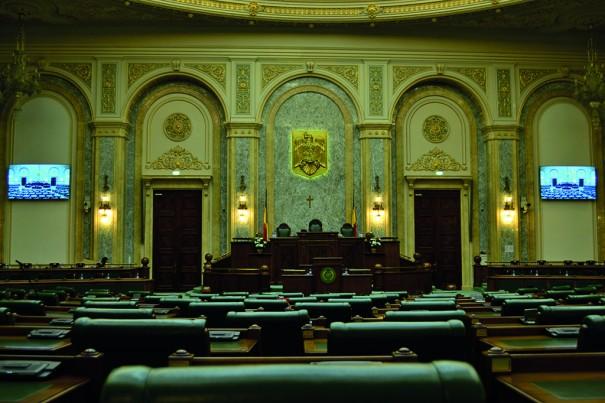 Eyevis Parlamento Rumania