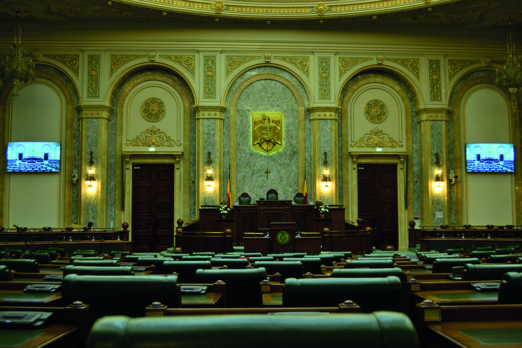 Il parlamento della romania installa due videowall di for Streaming parlamento