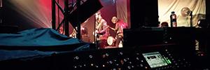 El Grupo Adagio colabora en la producción de sonido para la gira del grupo L.A.