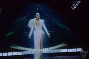 Intel en CES2016 acuerdo Lady Gaga