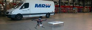 MRW prueba los drones para el envío de paquetes a zonas de difícil acceso