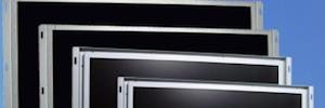 Macroservice presenta la gama de monitores open frame para cartelería digital de SolView