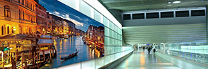 Panasonic LFV6 and LFV60: videowalls ultra-thin frame for digital signage