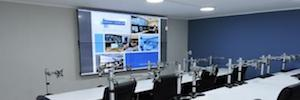 Videowall DLP for the tracking and analysis of immigration control