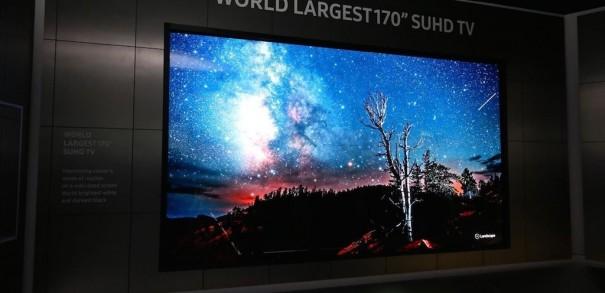 Samsung SUHD 170 pulgadas CES2016