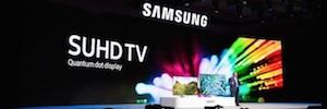 Samsung incorpora tecnología Quantum Dot y conectividad IoT a su nueva gama SUHD