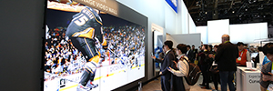 Samsung shows how the ' Visual Display' will transform the future business and retail