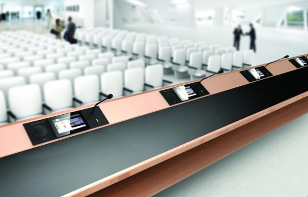 Televic sistema conferencia
