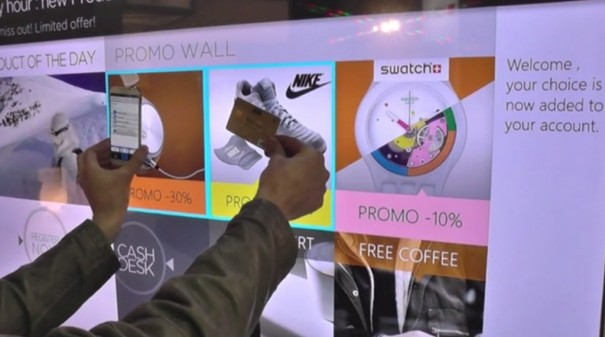 Think and Go pantalla conectada DS pago sin contacto