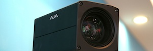 AJA surprises in ISE RovoCam 2016, his first camera compact HDBaseT