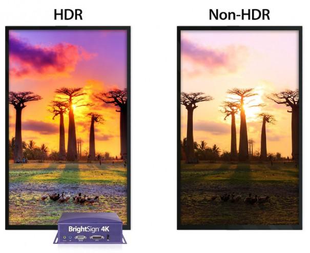 BrightSign 4K y HDR