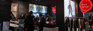 Canon AV Stumpfl performed ISE 2016 surround dual 4K projection experience