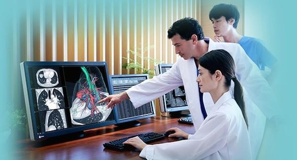 Eizo monitor medico
