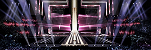 Eurovision 2016 stage seeks to create optical illusions through LED lighting