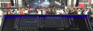 dLive gestiona el sonido del festival de góspel Promessas de Sao Paulo