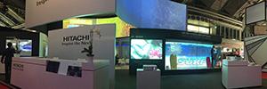Hitachi muestra en ISE 2016 sus desarrollos de proyección led de fósforo